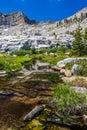 Lacs mosquito, stationnement national de séquoia Photo stock
