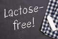 Lactose free Royalty Free Stock Photo