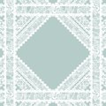 Lacy vintage background vector illustration Stock Image
