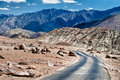 Ladakh highway Royalty Free Stock Images