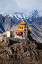 Ladakh in indian himalayas himachal pradesh india Stock Photography
