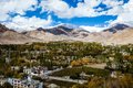 Ladakh in indian himalayas himachal pradesh india Royalty Free Stock Images