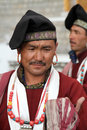 Ladakhi dancer men Stock Photography