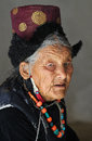 Ladakhi woman portrait Royalty Free Stock Photos