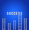 Ladder competition to success concept business Stock Photo
