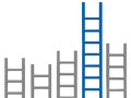 Ladder graph Royalty Free Stock Photos