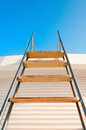 Ladder to the blue sky Royalty Free Stock Photo