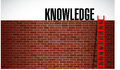 Ladder to knowledge illustration design graphic background Royalty Free Stock Photography