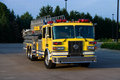 Ladder Truck Front Stock Images