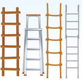 Ladders Stock Photo