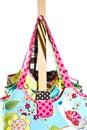 Ladies Colorful Handbags Royalty Free Stock Photo