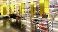 Ladies handbags retail shop Royalty Free Stock Photo