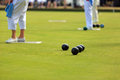 Ladies lawn bowls tournament Royalty Free Stock Photography