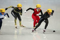 Ladies m heats short track heats sochi russia february jessica smith usa no at at the sochi olympic games Stock Photos