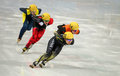 Ladies m heats short track heats sochi russia february yui sakai jpn no at at the sochi olympic games Stock Images