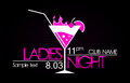 Ladies night Royalty Free Stock Photo
