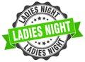 Ladies night stamp Royalty Free Stock Photo