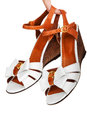 Ladies sandals Royalty Free Stock Photo