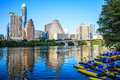 Lady Bird Lake Downtown, Austin, Texas Royalty Free Stock Photo