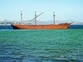 Lady Elizabeth shipwreck, Falklands Royalty Free Stock Photo