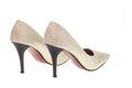 Lady fashion shoe on white background Stock Photography