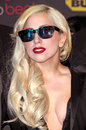 Lady gaga at a signing for the cd the fame monster best buy los angeles ca Royalty Free Stock Photos