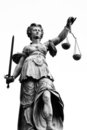 Lady of Justice Royalty Free Stock Photo