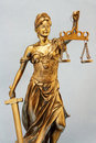 Lady of Justice Royalty Free Stock Images