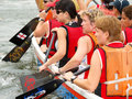 Lady Rowers Royalty Free Stock Photo
