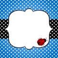 Ladybug Fathers Day Card