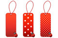 Ladybug price tags Royalty Free Stock Photo