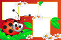 Ladybug scrapbook