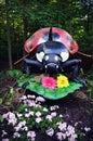 Ladybug Statue Royalty Free Stock Photo