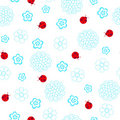 Ladybugs Seamless Repeat Pattern Royalty Free Stock Photography