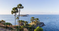 Laem phromthep viewpoint phromthep cape viewpoint in phuket thailand Royalty Free Stock Photos
