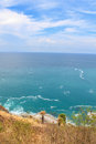 Laem phromthep viewpoint in phuket thailand x cape x Stock Photography