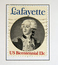 Lafayette Royalty Free Stock Photography