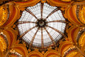 Lafayette Galleries dome in the center Royalty Free Stock Photo