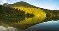 Laghi di fusine mountain lake in the italian alps Stock Photography