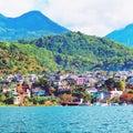 Lago atitlan guatemala Foto de archivo libre de regalías