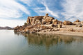 Lago beauty en Hampi Fotos de archivo libres de regalías