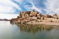 Lago beauty in Hampi Fotografie Stock Libere da Diritti