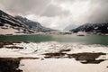 Lago Bianco With Snowy Mountai...