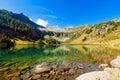 Lago di campo adamello trento italy lake m small beautiful alpine lake in the national park of brenta trentino alto adige Royalty Free Stock Photos