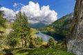 Lago di campo adamello trento italy lake m small beautiful alpine lake in the national park of brenta trentino alto adige Royalty Free Stock Image