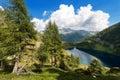 Lago di campo adamello trento italy lake m small beautiful alpine lake in the national park of brenta trentino alto adige Stock Images