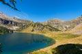 Lago di campo adamello trento italy lake m small beautiful alpine lake in the national park of brenta trentino alto adige Stock Image