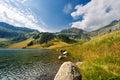 Lago di campo adamello trento italy lake m small beautiful alpine lake in the national park of brenta trentino alto adige Royalty Free Stock Images
