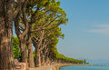Lago di garda great lake in italy Royalty Free Stock Photos