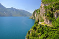 Lago di garda largest italian lake north italy Royalty Free Stock Photography